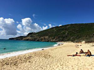 st barths saline beach after hurricane irma