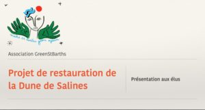 st barths salines dune restoration project