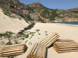 saline beach planches