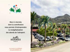 Make St Barths green again Hermes