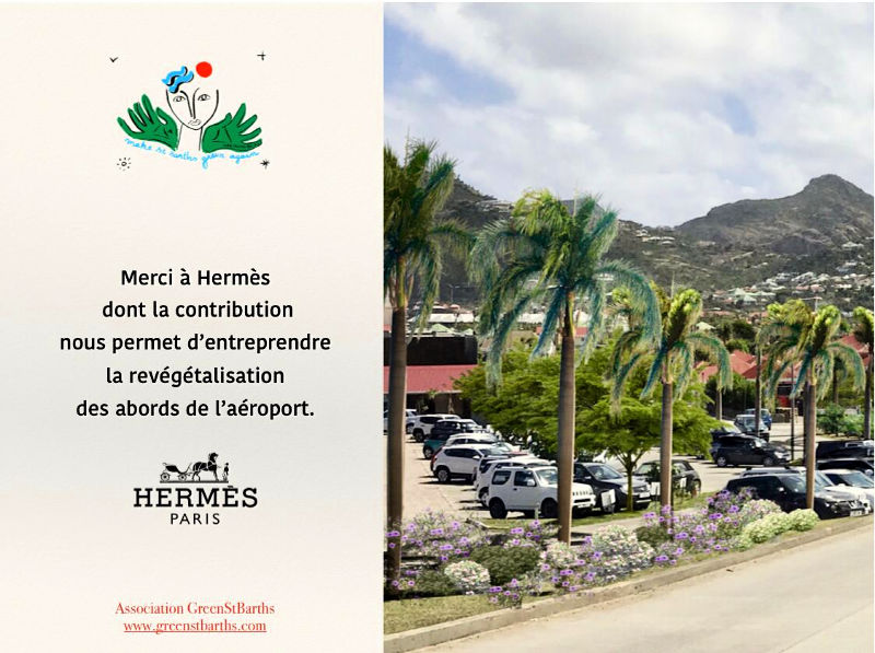 Make St Barths green again Hermes